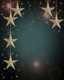 звезды праздника рождества предпосылки Стоковые Изображения