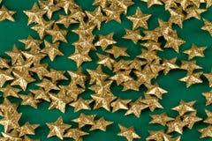 звезды предпосылки золотистые Стоковое Изображение