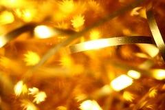 звезды предпосылки золотистые Стоковое фото RF