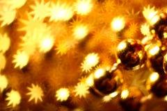 звезды предпосылки золотистые Стоковое Изображение RF