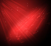 звезды предпосылки шикарные красные Стоковые Изображения RF