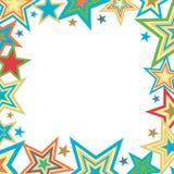 звезды предпосылки яркие Стоковое Изображение
