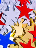 звезды предпосылки Стоковая Фотография