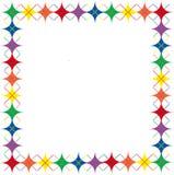 звезды радуги граници argyle Стоковые Фотографии RF