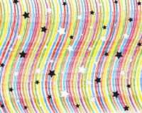 звезды радуг Стоковое Изображение RF