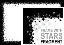 звезды рамки Стоковые Изображения RF