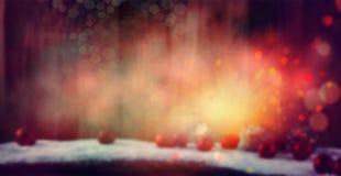 звезды рождества baubles предпосылки стоковая фотография rf