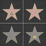 звезды славы Стоковое Изображение RF