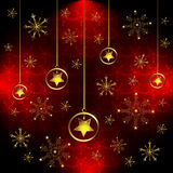 звезды снежинки Стоковые Фотографии RF