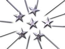 звезды толпы Стоковые Изображения