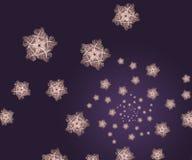 звезды фрактали предпосылки Стоковые Фото