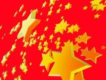 звезды 1 предпосылки Стоковое фото RF