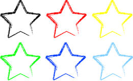 звезды иллюстрация штока