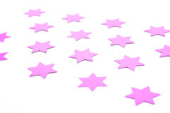 звезды confetti стоковое фото