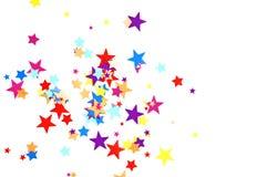 звезды confetti Стоковое фото RF