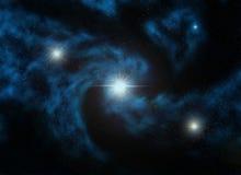 звезды nebulus Стоковое Изображение