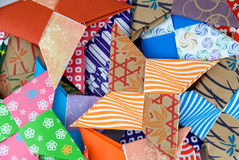 звезды origami Стоковые Изображения