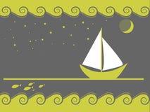 звезды sailing иллюстрация штока