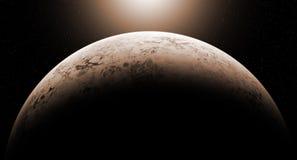 Звезда абстракции в вселенной Стоковая Фотография RF