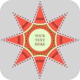 Звезда арбуза Стоковые Изображения