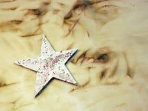 Звезда белой бумаги Стоковая Фотография
