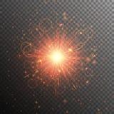 Звезда золота с яркостью бесплатная иллюстрация
