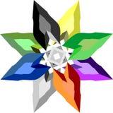 Звезда диаманта Стоковая Фотография