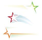 звезда икон Стоковые Изображения