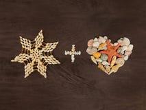 Звезда и сердце Стоковые Фотографии RF
