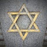 звезда иллюстрации 3d Давида Стоковое фото RF