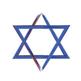 звезда иллюстрации 3d Давида Стоковые Изображения RF