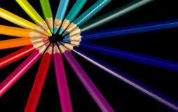 Звезда карандашей стоковое изображение rf