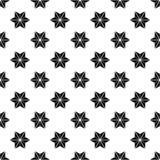 звезда картины безшовная Стоковые Фото