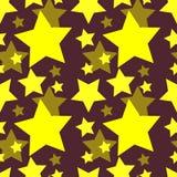 звезда картины безшовная Стоковое Фото