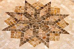 Звезда мозаики стоковая фотография rf