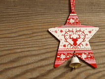 Звезда на доске Стоковая Фотография RF