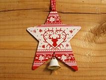 Звезда на доске Стоковая Фотография
