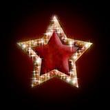 звезда ночи изображения фрактали рождества Стоковые Изображения RF
