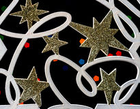 звезда ночи изображения фрактали рождества стоковая фотография