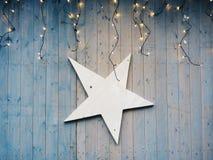 звезда ночи изображения фрактали рождества Стоковые Фотографии RF
