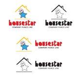 Звезда дома стоковое фото rf