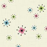 звезда предпосылки ретро Стоковое Фото