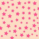 звезда предпосылки розовая Стоковые Фото