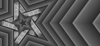 Звезда прокладки пленки Стоковое Изображение RF