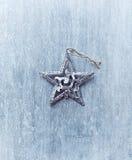 звезда рождества деревенская Стоковое Фото