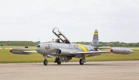 Звезда стрельбы Lockheed T-33 Стоковое Изображение RF