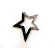 Звезда с стразами стоковое изображение