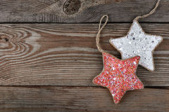 Звезда украшений для рождественской елки Стоковая Фотография RF