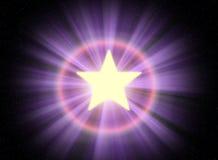 Звезда 04 Стоковое Изображение RF