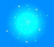 звезда eps абстрактной предпосылки 8 голубая Стоковое Фото